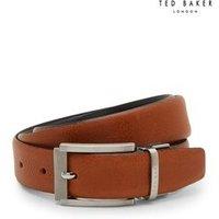 Mens Ted Baker Reva Reversible Belt - Tan