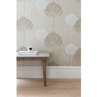 Next Paste The Wall Tranquil Leaf Gold Wallpaper - Gold