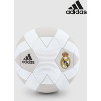 Boys adidas Real Madrid Football - White