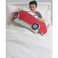Next Car Shaped Pillowcase - Red