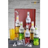 Next 6 Bottles Vodka Cocktail Gift Set - Clear