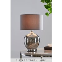 Next Drizzle Touch Table Lamp - Grey