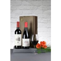 Next Set of 2 Classic Riojas Red Wine Gift - Red