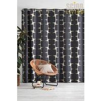 Scion lohko Eyelet Curtains - Black