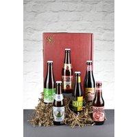 Set of 6 Le Bon Vin Artisan Beer Taster Set - Brown