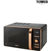 Tower 20L Digital Microwave - Black