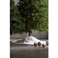 Next Faux Fur Tree Skirt - White