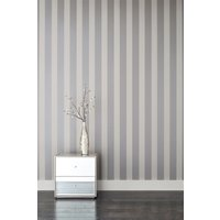 Next Paste The Wall Sequin Stripe Wallpaper - Silver