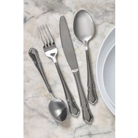 Next 16 Piece Vintage Style Cutlery Set - Silver