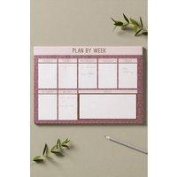 Next Blush Desk Planner - Pink