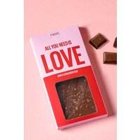 Next All You Need Is Love Chocolate Bar - Red
