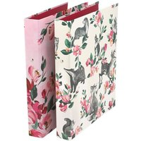 Cath Kidston Badgers And Friends Ring Binders - Pink