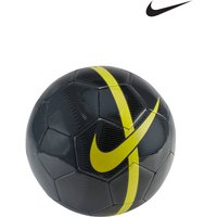 Boys Nike Grey/Yellow Mercurial Fade Football - Black