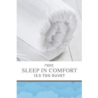 Next Sleep In Comfort 13.5 Tog Duvet - White