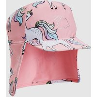 Girls Next Pink Unicorn Legionnaire Hat (Younger) - Pink