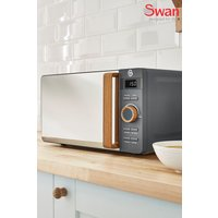 Swan 20L Nordic Digital Microwave - Grey
