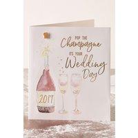 Next Wedding Day Card - Cream