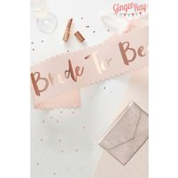 Ginger Ray Bride To Be Sash - Pink