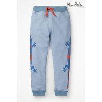 Boys Boden Blue Animal Jogger - Blue