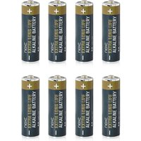 Next Pack Of 8 AA Batteries - Black