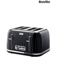 Breville Impressions Cream 4 Slot Toaster - Black