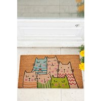 Next Cat Doormat - Natural