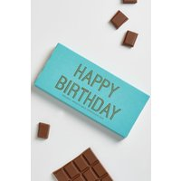 Next Happy Birthday Chocolate Bar - Teal