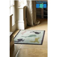 Turtle Mats Dirt Trapper Country Living Hares Doormat - Natural