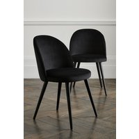 Next Set Of 2 Zola Dining Chairs