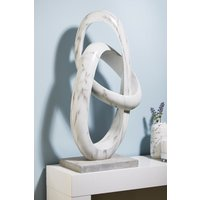 Next XL Marble Effect Sculpture - Grey