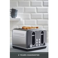 Next 4 Slot Toaster - Grey