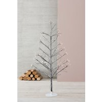 Next 210 LED Frosted Star Burst 5ft Twig Tree - Natural