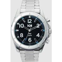 Mens Next Silver Tone Watch - Silver