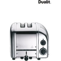 Dualit Polished Stainless Steel 2 Slot Toaster - Silver
