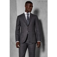 Mens Ted Baker Grey Chetto Sterling Check Suit - Grey
