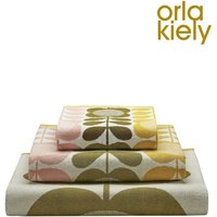 Orla Kiely Summer Floral Towels - Yellow