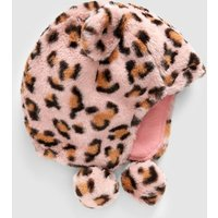Girls Next Leopard Faux Fur Trapper Hat (Younger) - Leopard