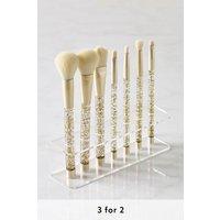 Womens Next Glitter Brush Set - Gold