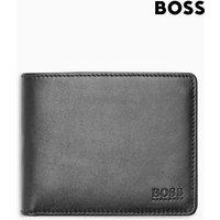 Mens BOSS Black Folding Wallet - Black