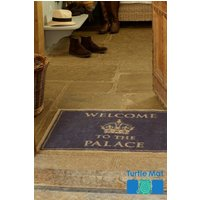 Turtle Mats Dirt Trapper Historic Palace Doormat - Grey