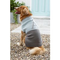 Next Size Extra Large Initial Dog Jumper - Blue