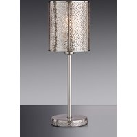 Next Nahla Touch Table Lamp - Chrome