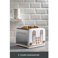 Next 4 Slot Toaster - White