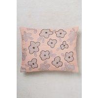 Next Embellished Floral Cushion - Pink