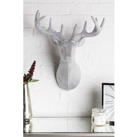 Next Diamant © Effect Stag Head - Silver