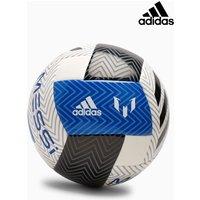 Boys adidas White/Blue Messi Football - White