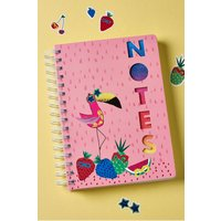 Next Sticker Notebook - Pink
