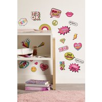 Next Girl Power Wall Sticker Wallpaper - Pink