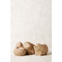 Next Hedgehog Tealight Holders - Natural