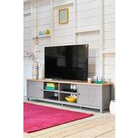 Next Hanley Super Wide TV Unit - Grey
